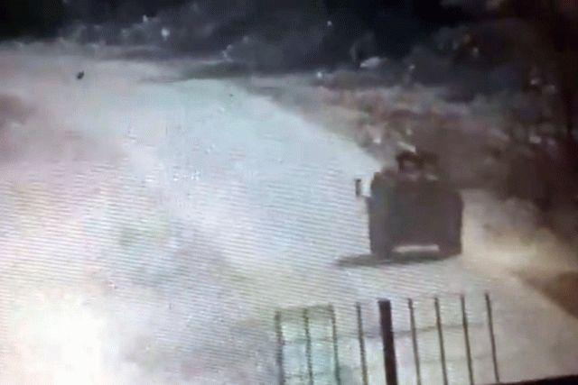 В Сирии повстанцы взорвали российский броневик, видео