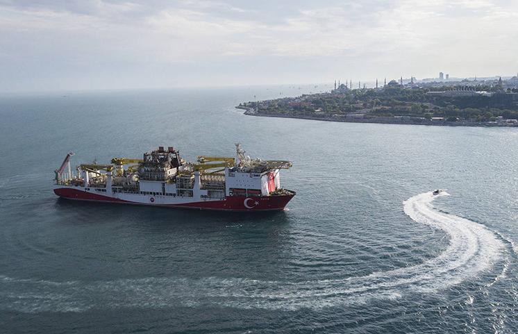 Турция обнаружила залежи природного газа в Черном море