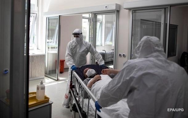 В Украине новый антирекорд по количеству смертей от коронавируса