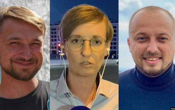 В Беларуси задержали журналистов из Украины и России
