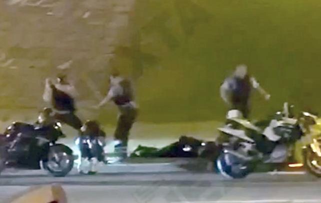 Жестокое задержание байкеров в Минске попало на видео