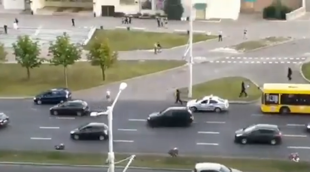 В Минске силовики избили пожилого водителя: видео