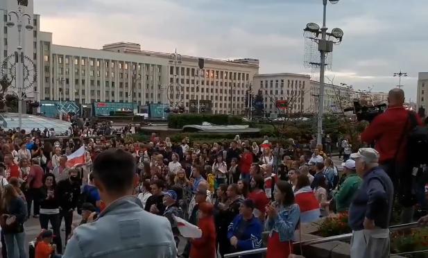 В Минске жестко разогнали акцию протеста