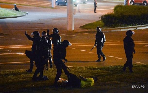 В Минске во время разгона протестующих прогремел сильный взрыв