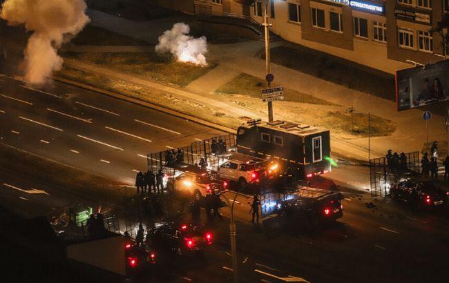 Появилось видео взрыва в Минске