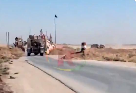 Войска США нанесли удар по марионеткам России в Сирии, видео