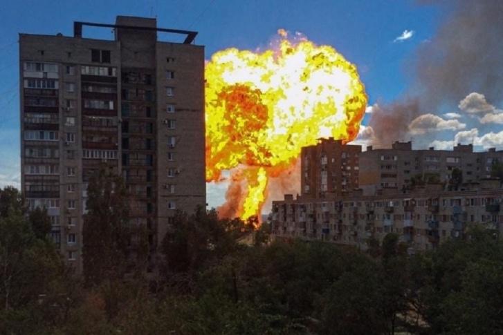 Появилось видео мощного взрыва в российском Волгограде