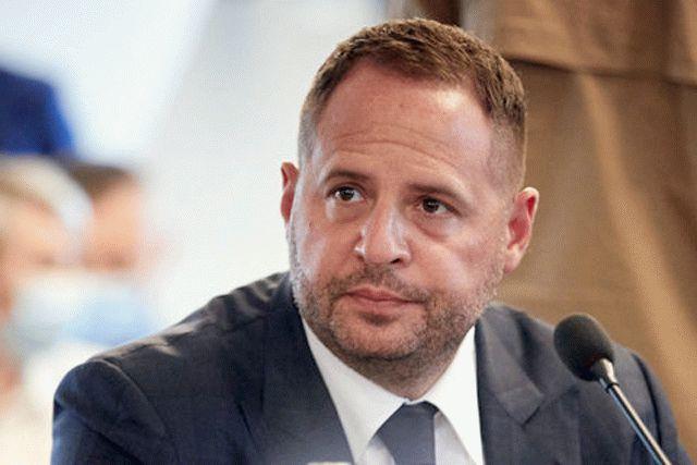 Ермак высказался о роли России в войне на Донбассе