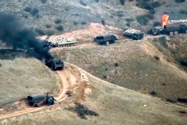 Азербайджан захватил в плен армянского военного летчика и уничтожил еще два танка