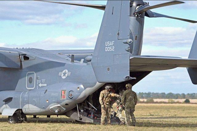 На подступах к Крыму тренируется десант Сил специальных операций США