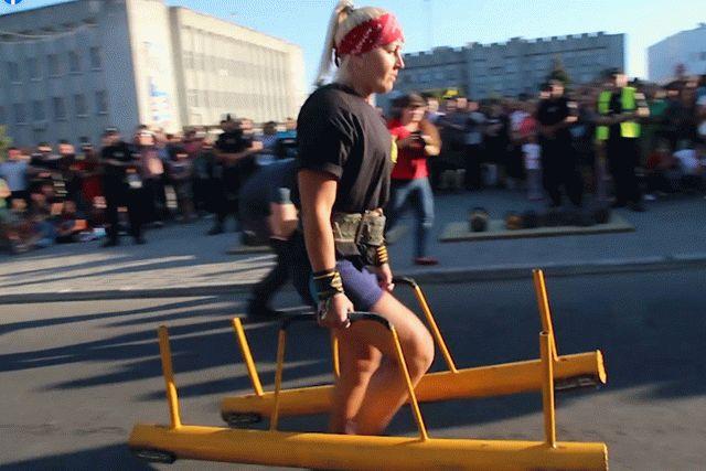 Василий Вирастюк провел на передовой на Донбассе Богатырские игры