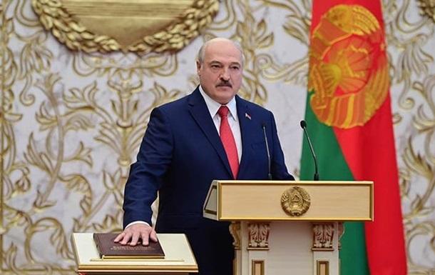 Украина отказалась признавать Лукашенко президентом Беларуси