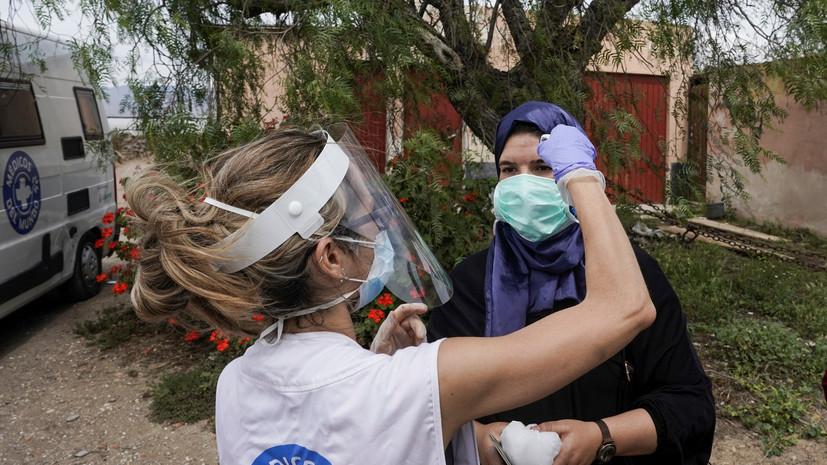 В Африке третья страна преодолела рубеж в 100 тысяч случаев заражения коронавирусом
