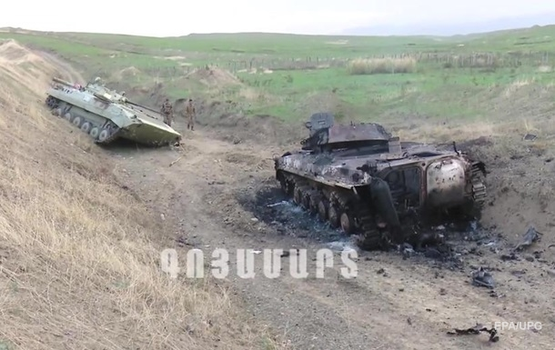 Армения заявила о нанесении большого урона армии Азербайджана