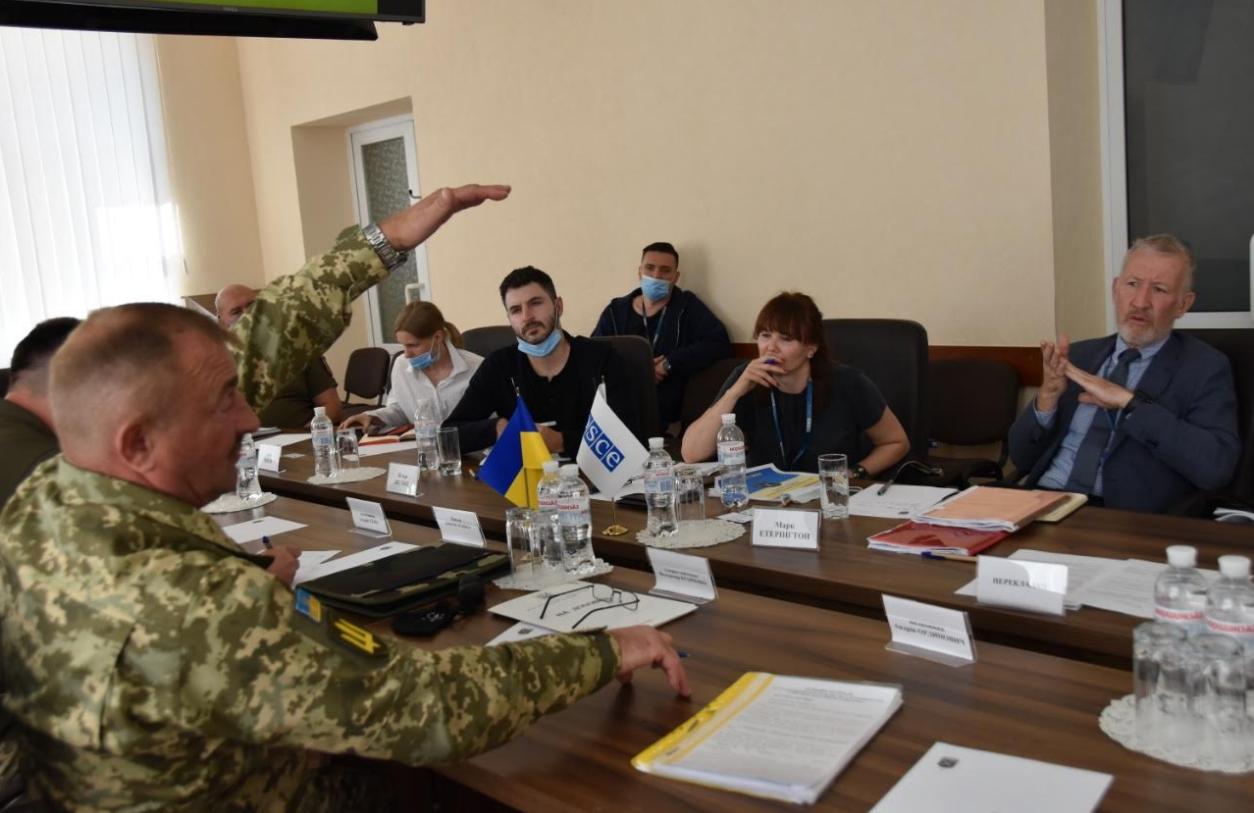 Состоялась инспекция позиций ВСУ возле Шумов