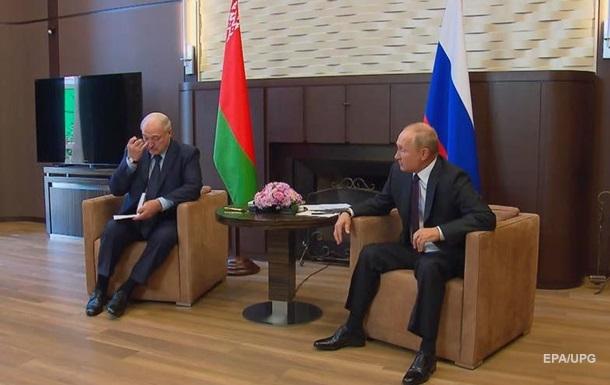 Завершилась многочасовая встреча Путина и Лукашенко