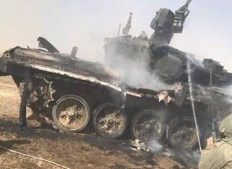 Российские военные потеряли новый танк и стратегический бомбардировщик