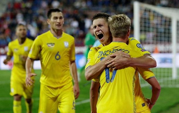 Украина выиграла у Швейцарии в Лиге наций: видео голов