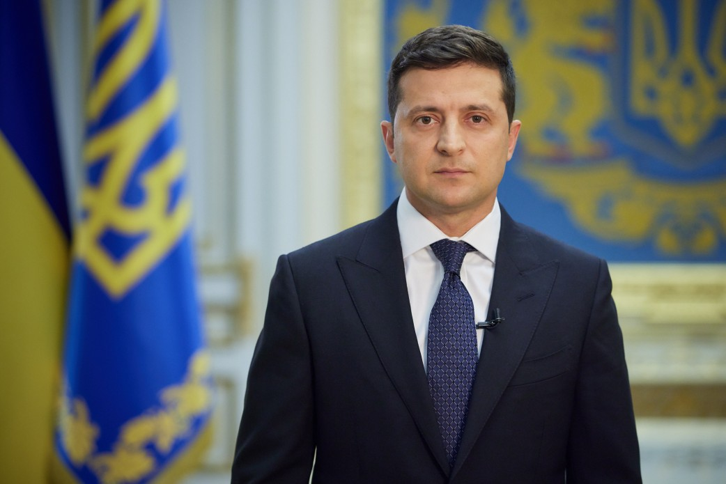 Зеленский назвал российскую агрессию на Донбассе войной в Европе