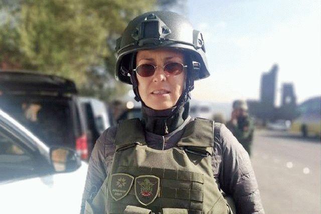 В Нагорном Карабахе попала под обстрел российская певица