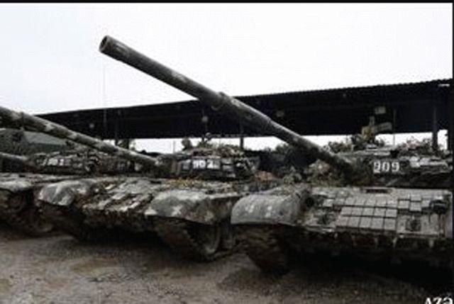 Азербайджан уничтожил армянские танки и показал большие военные трофеи