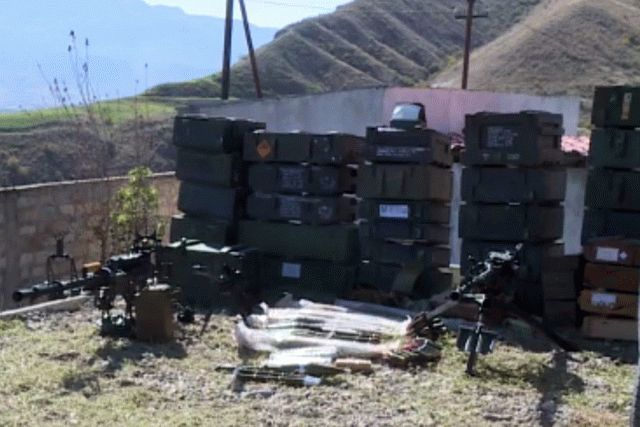 Азербайджан отбил атаку армянской армии и захватил трофеи