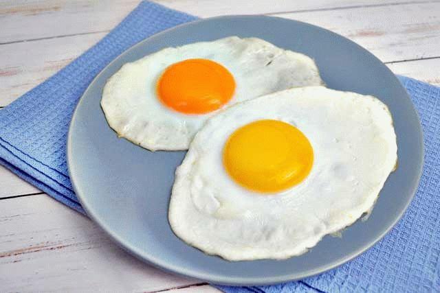 Яичница признана лучшим завтраком