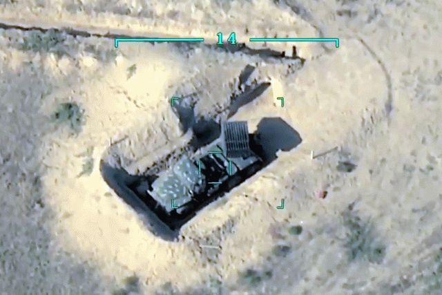 Армия Азербайджана уничтожила скопление армянских танков, видео