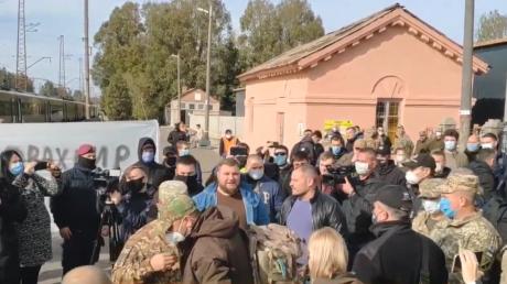 На Донбассе ветераны АТО предъявили претензии Арахамии
