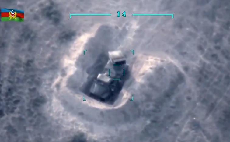 Азербайджан уничтожил восемь «Градов» и «Ураган»: видео