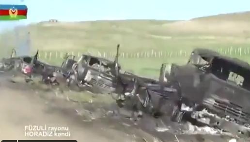 Азербайджан отбил контрнаступление армянских военных в Нагорном Карабахе