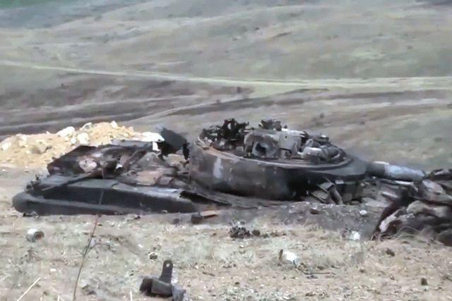 Армяне нанесли урон армии Азербайджана, видео