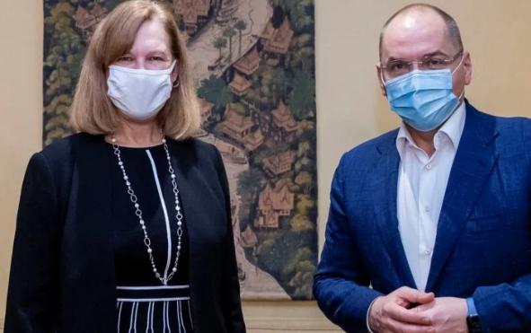 Посольство США сообщило об отказе Украины закупать российскую вакцину от коронавируса