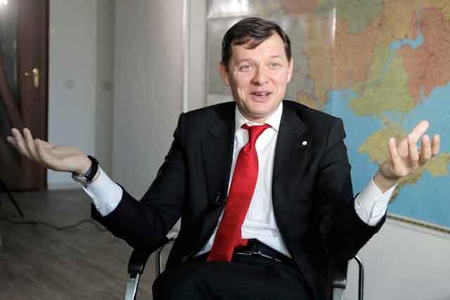 Ляшко заявил, что у него пытаются украсть победу на выборах в Верховную Раду