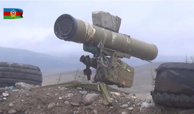 Азербайджан использовал в бою захваченные армянские танки