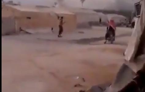 Российские военные нанесли ракетный удар в Сирии