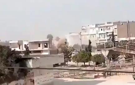 В Сирии россияне и союзники атаковали город с турецкими войсками