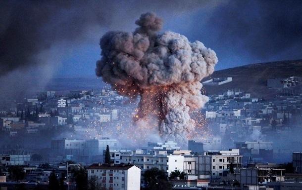 Российские военные осуществили масштабный авиаудар в Сирии