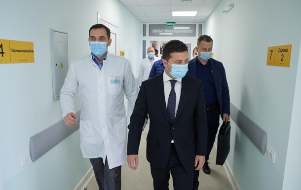 Зеленский анонсировал строительство в Украине пяти медгородков