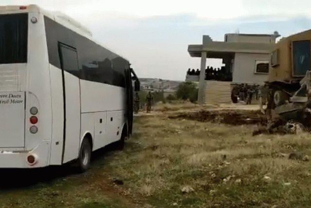 Турецкая армия заняла новые позиции в Сирии