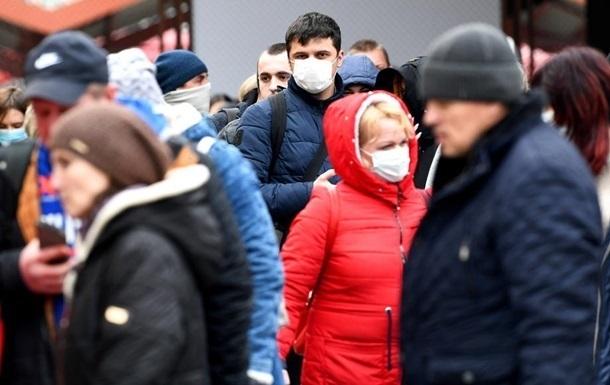 В Украине новый максимум заболеваемости коронавирусом за сутки