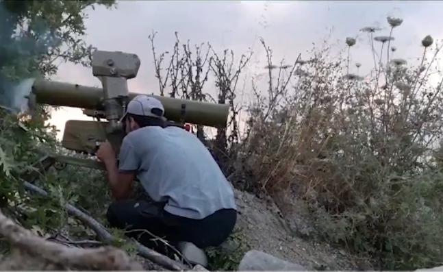 В Сирии ПТУРом уничтожена группа российских наемников. Видео