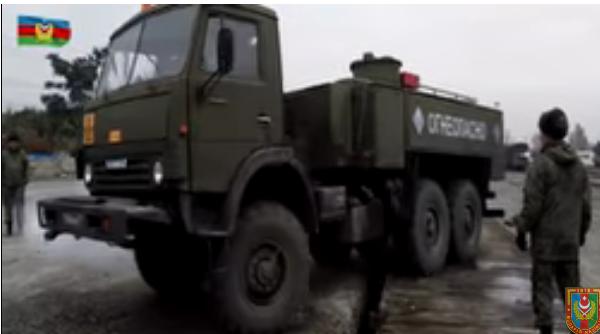 В Баку прибыли российские войска