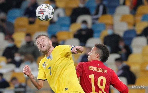 Сборной Украине засчитали техническое поражение в матче со Швейцарией