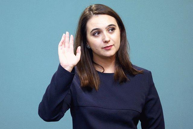 Мендель рассказала, как двумя твитами стабилизировала ситуацию в Украине