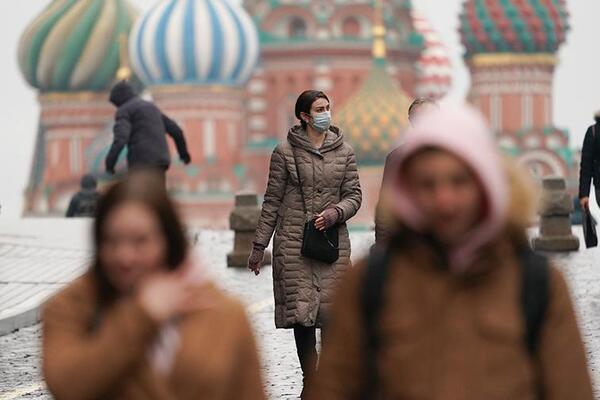 В России количество заражений коронавирусом превысило 3 миллиона