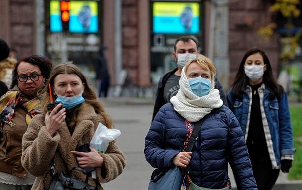 В Украине с начала пандемии заразились коронавирусом более миллиона человек