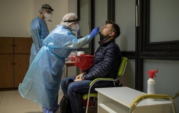 В Украине за сутки коронавирусом заболели более 8.5 тысяч человек