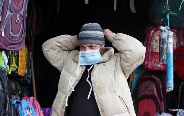 Украина поднялась на 16-ое место в мире по количеству заражений коронавирусом