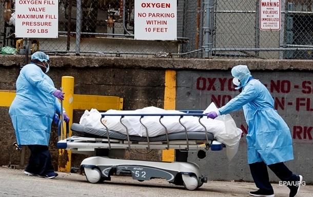 В США и Италии новые антирекорды по количеству смертей от коронавируса
